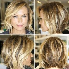 Shoulder Length Layered Choppy Hairstyle | Layered, Messy Bob | Popular Haircuts by Alchemia