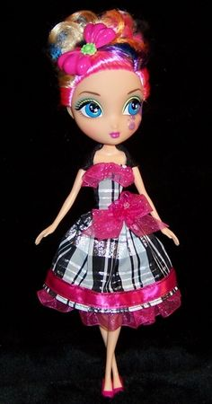 "Dee in ""Pink N' Plaid Party Dress"""