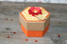Shimmer and Shine - World of Thanks gift box and card - Stampin'up