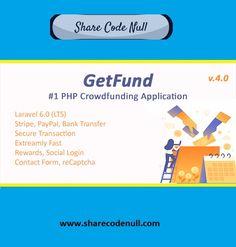 GetFund – A Professional Laravel Crowdfunding Platform Fundraising, Script, Campaign, Platform, Coding, Create, Script Typeface, Scripts, Heel