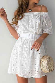 Cute Dresses, Casual Dresses, Casual Outfits, Short Sleeve Dresses, Mode Outfits, Dress Outfits, Fashion Dresses, Vestido Casual, Summer Outfits