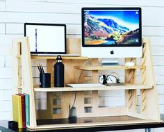 The Perch is a revolutionary sit-to-stand desk beautifully designed to be the most customizable and affordable sit-to-stand desk in the market. Our split-level shelf technology allows a monitor and a laptop or two different sized monitors to BOTH be at eye level. #startups #gadgets #tech