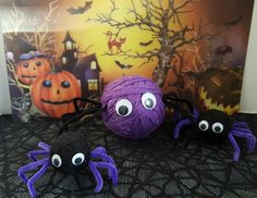 nice Top Fall Crafts for Thursday Halloween Spider Decorations, Halloween Fun, Halloween Costumes, Fall Crafts, Diy Crafts, Craft Projects, Thursday, Party, Nice