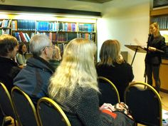 Lisa Kelly reading at Brittle Star Launch, Barbican Library Nov 2013 Brittle Star, Lisa Kelly, Star Magazine, Barbican, Product Launch, Stars, Reading, Sterne, Reading Books