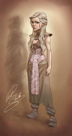 Daenerys Targaryen - Game of Thrones - Peter Slavik