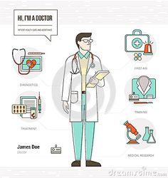 infographic technology resumes | Professional doctor infographic skills resume with tools, medical ...