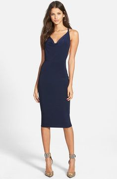 MISSGUIDED+Slinky+Body-Con+Dress+available+at+#Nordstrom