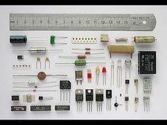 Repaso de componentes electrónicos - YouTube