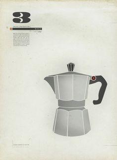 #Coffee Contraption : Moka Art #Print