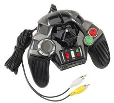 Star Wars Revenge of the Sith Plug n Play TV Game (Darth Vader Controller with 5 Epic Games 2005 JA @ niftywarehouse.com #NiftyWarehouse #Geek #Gifts #Collectibles #Entertainment #Merch