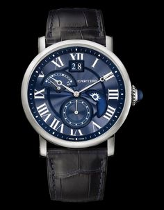 Cartier - Rotonde De Cartier Second Time Zone Day/Night   Time and Watches