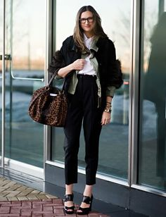 Cool Chic Style Fashion: Jenna Lyons || J.Crew President and Creative Director ♥