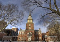 Independence Hall in #Philadelphia is great to see in the winter since it is indoors and less crowded.