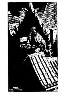 Mike Mignola - Hellboy - Comics - 15 print on canvas, print on wood, print on steel or print on paper Comic Book Artists, Comic Artist, Comic Books Art, Eve Online, Mike Mignola Art, Cyberpunk, Black And White Comics, Shadow Art, Comic Styles