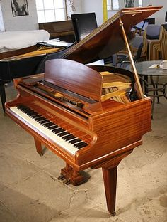A Challen baby grand piano with a mahogany case at Besbrode Pianos. This piano formerly belonged to Hurricane Smith who was the studio engineer on all of the EMI recordings by The Beatles until 1965 when he was promoted from engineer to producer. Smith engineered the sound for almost 100 Beatles songs in total. In early 1967, he began working with a new group, Pink Floyd, producing their first, second, and fourth studio albums.. £5950