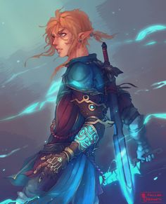 Legend of Zelda Breath of the Wild sequel inspired concept art > If Link's arm got infected and he needed a Sheikah tech prosthetic > botw 2 Anime Sexy, Nerd, Legend Of Zelda Breath, Twilight Princess, Breath Of The Wild, Game Character, Character Concept, Character Design Inspiration, Fantasy Characters