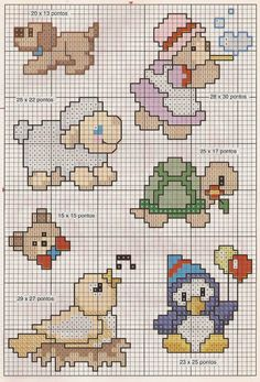 Cross Stitch Bookmarks, Cross Stitch Cards, Cross Stitching, Cross Stitch Embroidery, Cross Stitch For Kids, Cross Stitch Baby, Cross Stitch Animals, Card Patterns, Doll Patterns