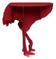 Scopri Console: Diva, Rosso lucido di Ibride disponibile su Made In Design Italia il miglior sito online di design.