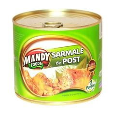 Sarmale de Post - Conservă easy-open, 500 g