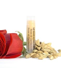 Rose & Cardamom Lip Balm | Leaves of Trees