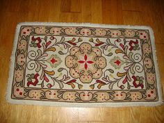 Cantinho da Sónia. Recovering Portuguese arraiolos carpets
