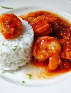 Eetlust!: Garnalen in zoete chili-tomatensaus