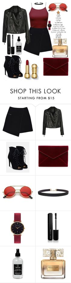 """Decay"" by saraprifti on Polyvore featuring MARC CAIN, Paige Denim, JustFab, Rebecca Minkoff, ZeroUV, Humble Chic, Abbott Lyon, Marc Jacobs, Little Barn Apothecary and Givenchy"