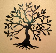 Olive Tree Metal Wall Art by BCMetalCraft on Etsy, $40.00