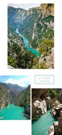 South of France: Verdon Gorge