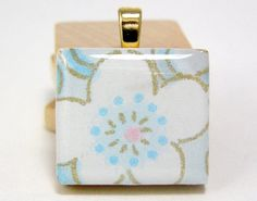 There are many way to crack a nut, and so there are with creating Scrabble Tile Pendants. Each way has it's own wonderful benefits. Here I'...