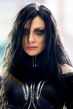 Cate Blanchett as Hela in Thor: Ragnarok