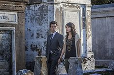 """The Vampire Diaries -- """"The Originals"""" -- Pictured (L-R): Daniel Gillies as Elijah and Daniella Pineda as Sophie -- Image Number: -- Photo: Skip Bolen/The CW -- © 2013 The CW Network, LLC. All rights reserved. Vampire Diaries Review, Vampire Diaries Enzo, Vampire Diaries Spin Off, Vampire Diaries Seasons, Vampire Diaries The Originals, Originals Season 1, Daniel Gillies, Caroline Forbes"""