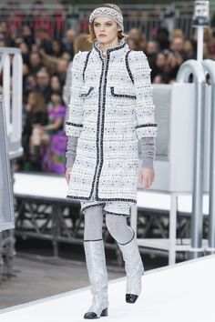 View the complete Fall 2017 collection from Chanel.