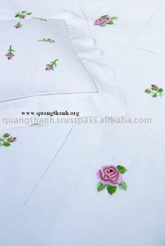 Quang Thanh Embroidery Duvet Cover