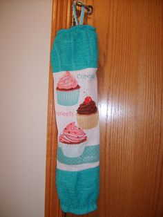 Every home needs one of these!  Grocery Bag Dispenser/Holder by CrochetandOrnaments on Etsy, $8.00