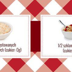 Co dziś na śniadanie? Zdrowe, pyszne i niskokaloryczne zamienniki tradycyjnych dań [Infografika]