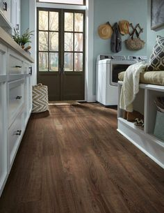 Luxury vinyl plank flooring to fit any room in your home. Our easy to install luxury vinyl floors come in tile, plank and vinyl sheet flooring in every style. Diy Wood Floors, Luxury Vinyl Plank Flooring, Wood Floors Wide Plank, Mannington Adura, Luxury Vinyl Flooring, Flooring Inspiration, Luxury Vinyl Plank