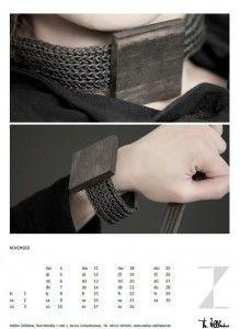 kalenderblatt november #Schmuck #Schmuck Set #Schmuck-Set www.atelier-zellhuber.de