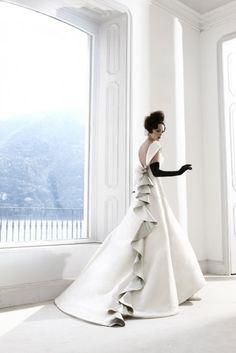 unique bridal dress