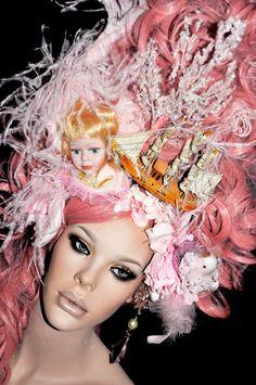 Marie Antoinette Inspired Headdress.