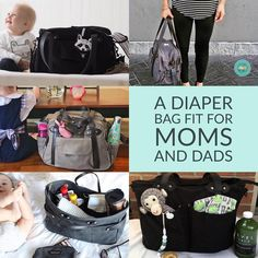 """I personally have one and love how much they can hold! Dads don't mind…"""" Diaper Bags, Mom And Dad, Dads, Amazing, Fitness, Instagram, Bags, Nappy Bags, Mothers Bag"""