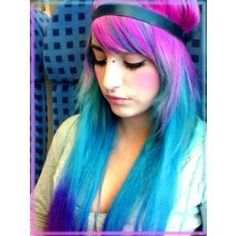 Colorful Hair :) - Polyvore