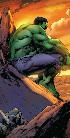Hulk by Mark Bagley