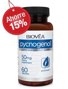El PYCNOGENOL es un poderoso antioxidante natural derivado de la corteza del pino marítimo francés.