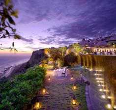 Bvulgari Hotel in Bali--Perfect for a proposal or romantic dinner (Future husband take note)