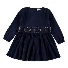 Louis Louise Crepe Cotton Romane Dress-product