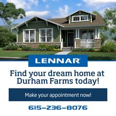 POP QUIZ: What is included in every Lennar Home built at Durham Farms? A: Huge tile showers in the owner's suite B. Hardwood flooring in the foyer, breakfast nook, kitchen, dining room, and family room C. Stainless Steel Appliance Package D. ALL OF THE ABOVE!!!   (Hint: It's D.)