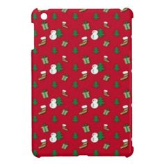 Christmas Decorations Mini Ipad Case by elenaind