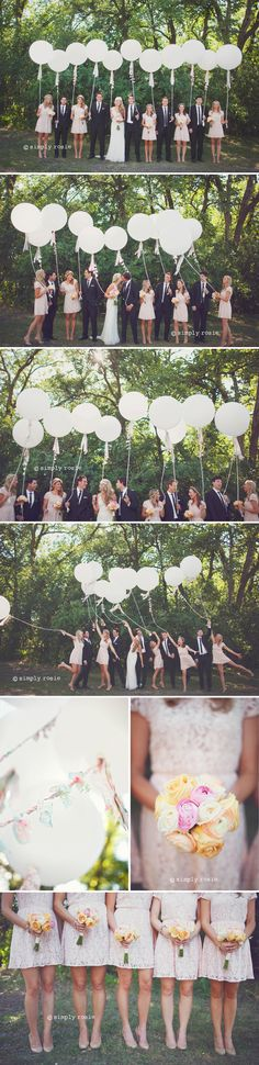 Cute Balloons with Ties!!! Simply Rosie Photography!