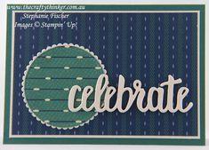 www.thecraftythinker.com.au, masculine card, Celebrate You, Sale-A-Bration, True Gentleman, Stampin' Up!